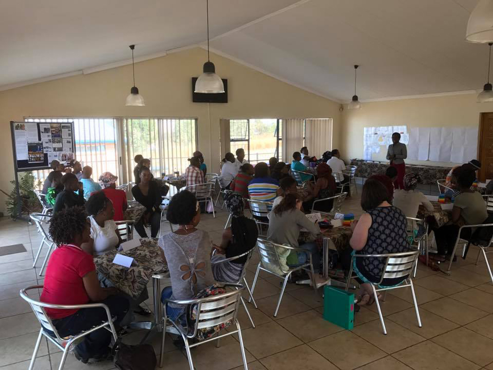 Play SA ECD and Child Care workers training